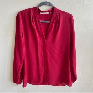 Violet & Claire Long Sleeve Blouse Medium